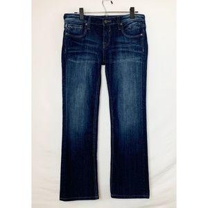 NWOT VIGOSS Dark Wash Straight Leg Jeans